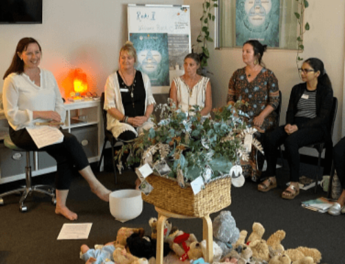 Reiki support group with a difference