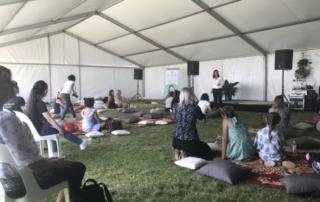 Lisa Brandis teaching Intuitive Reiki