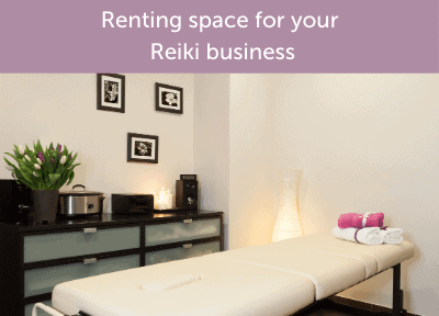 Renting space for your Reiki business is an exciting step! Here are my tips for transitioning from a home-based Reiki business.